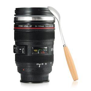 Tazza a forma di obiettivo di fotocamera